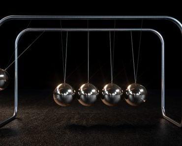 Newton's Cradle Physics Concept(Nimomose)s