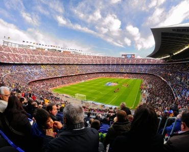 A general view of the Camp Nou Stadium in the football match between Futbol Club(Christian Bertrand)S