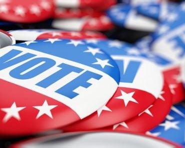 vote election on a white background 3D illustration(3dfoto)s