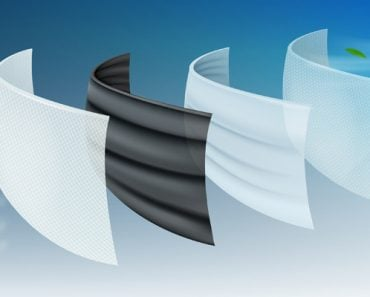 The filter layer of the surgical protective mask The first layer is coated with antiseptics(VectorManZone)s