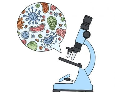 Microbes under a microscope(H Art)s