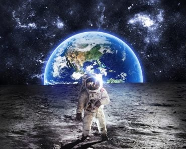 Astronaut,On,The,Moon,-,Elements,Of,This,Image,Furnished