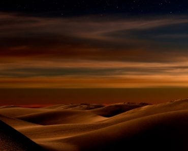 Night,In,The,Desert,Sand,Dunes