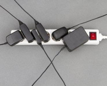 Multiple,Socket,With,Many,Power,Supplies,In,Grey,Background