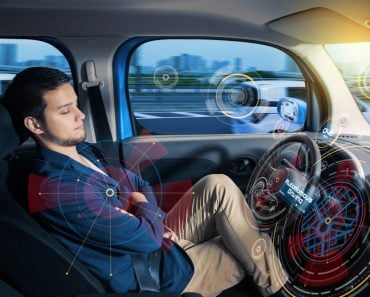 Sleeping,Driver,In,Autonomous,Car.