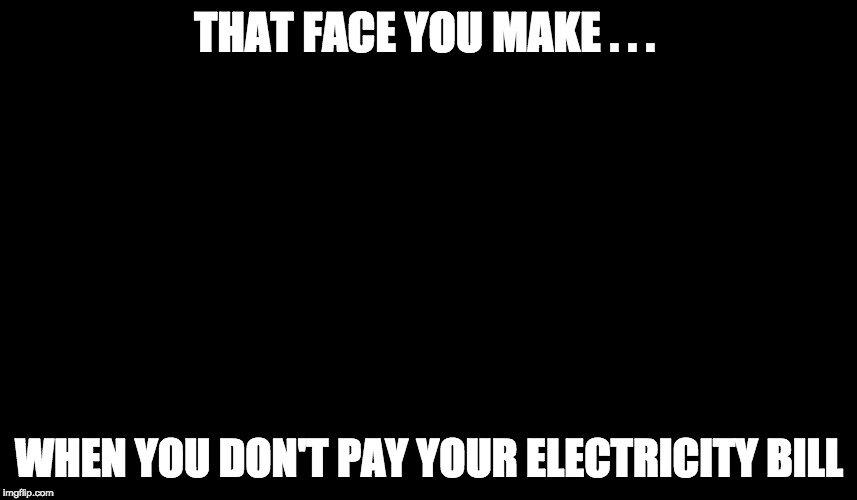 Image result for electricity meme