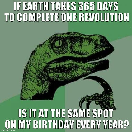, Is Earth Always In The Same Location On Your Birthday?, Science ABC, Science ABC
