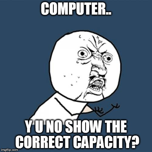 , Why Do Hard Drives/USB Drives Show Less Space Than Advertised When Plugged In?, Science ABC, Science ABC