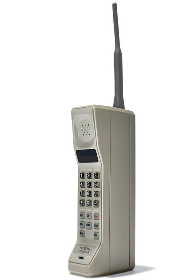 The first ever publicly available mobile phone. It was launched by Motorola in 1973