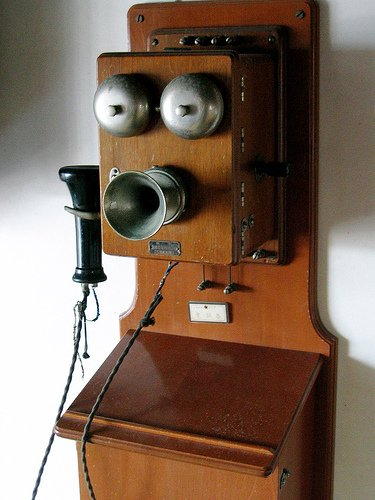 The Telephone in the Early 1900's