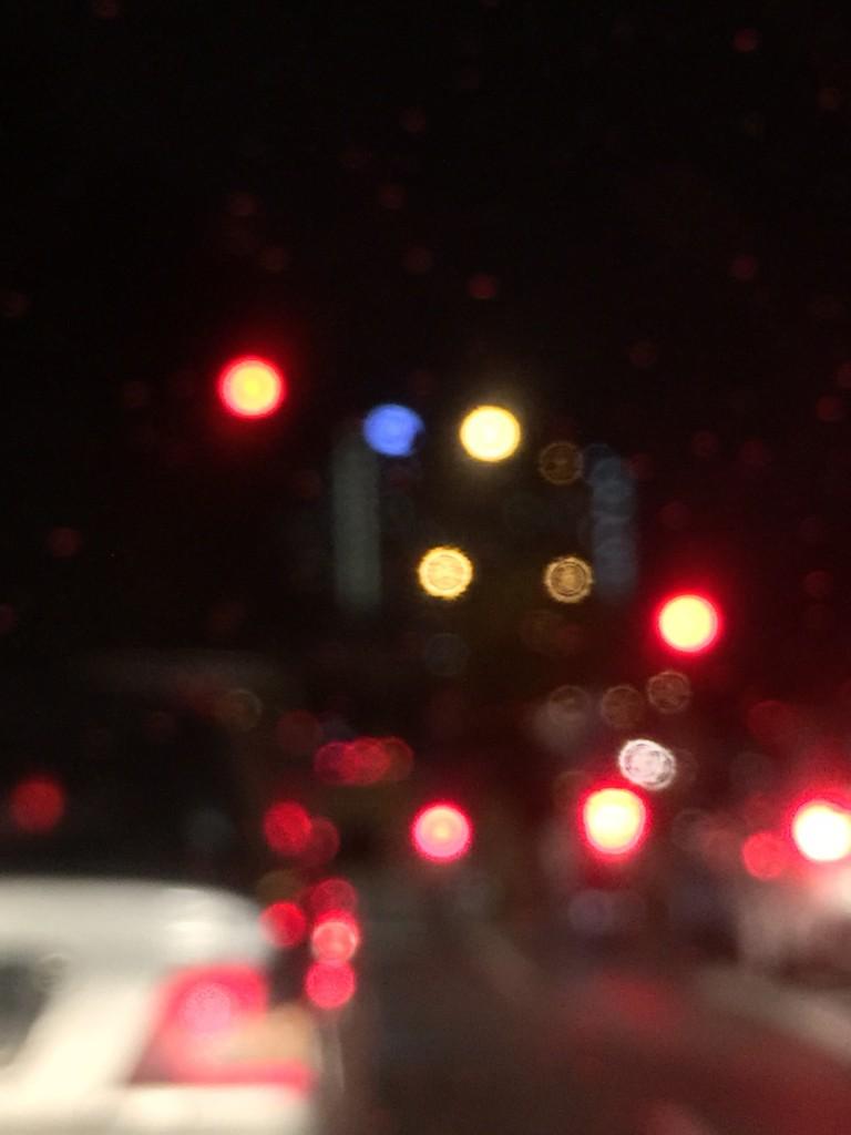 blury light background