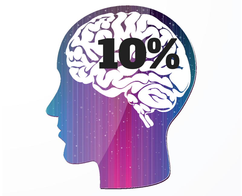 Brain 10 percent