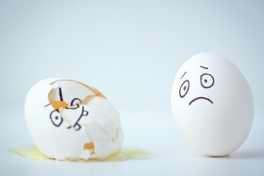 Egg Sad