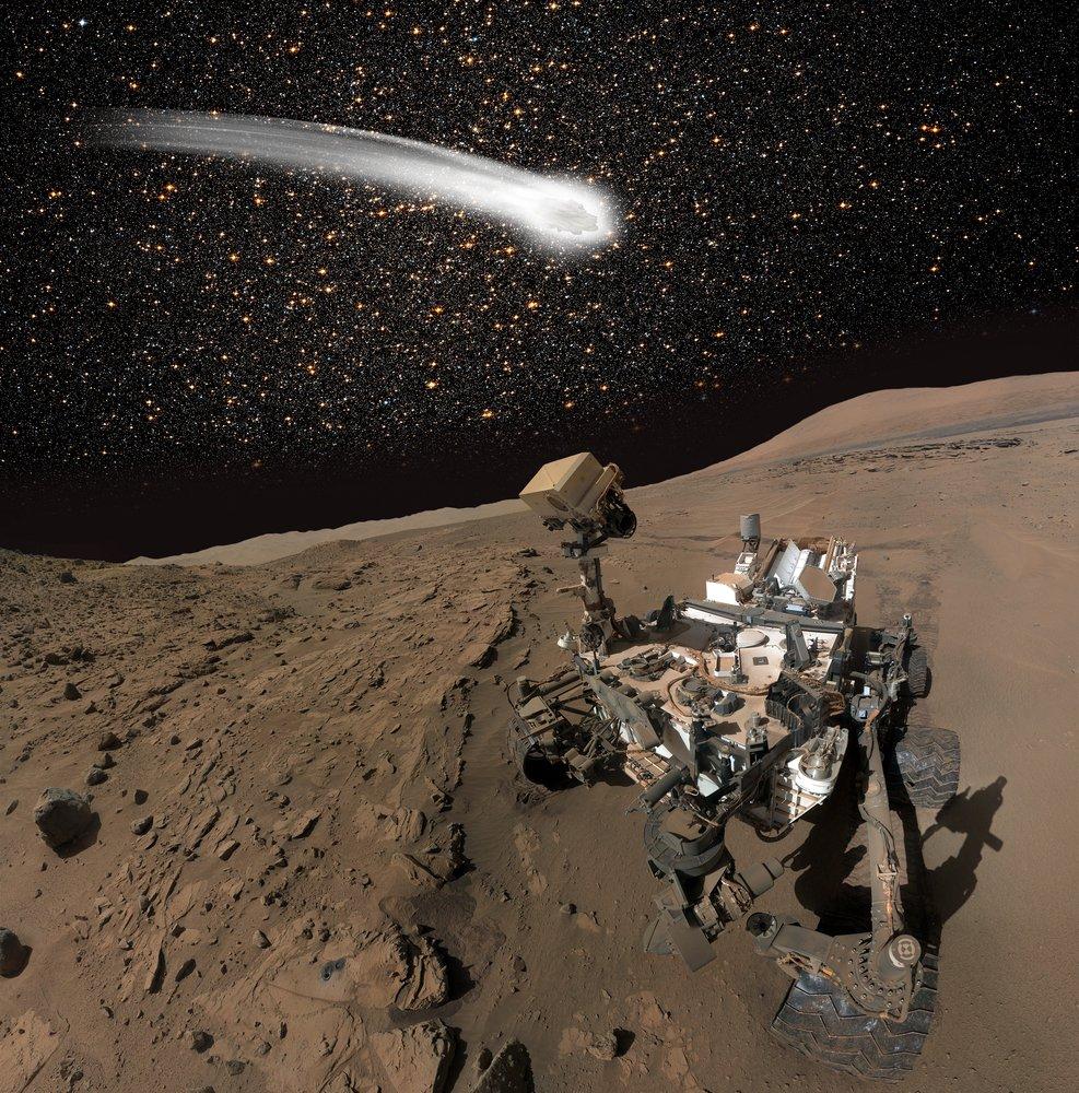 The Curiosity Rover