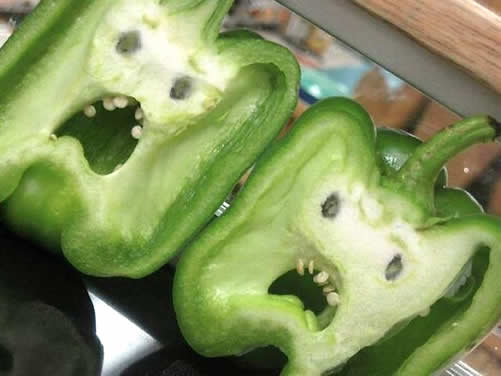 pareidolia peppers