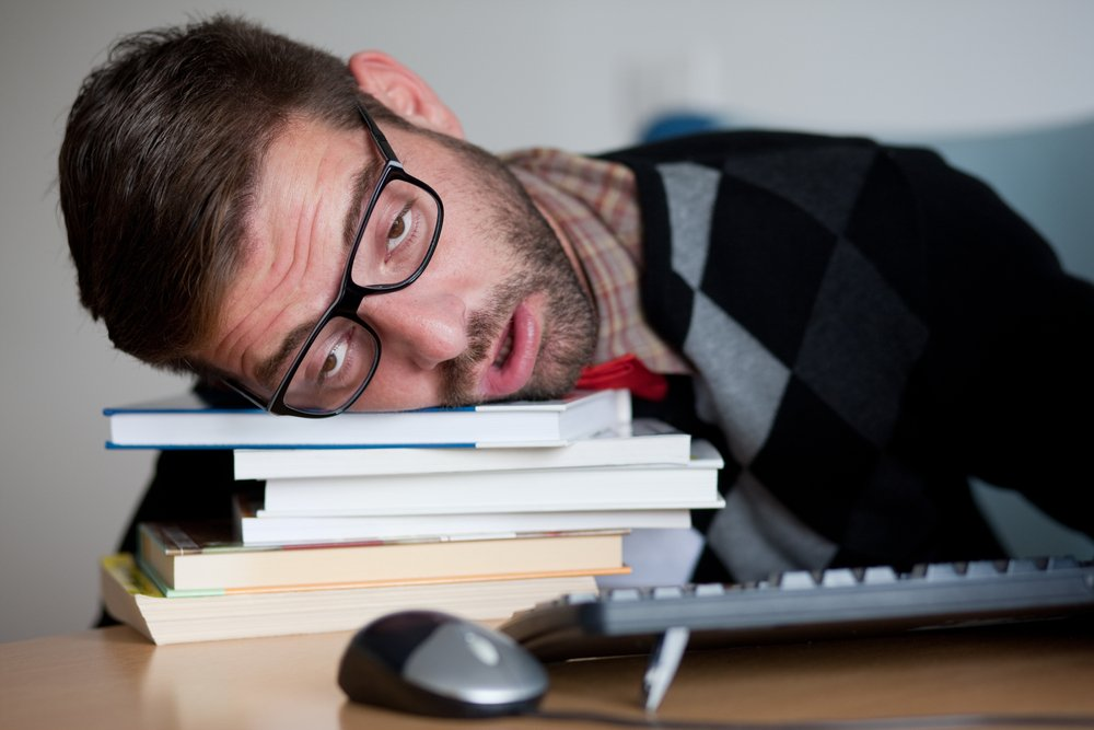 Sleep deprivation causes lack of focus, affecting academic performance and causes mood swings, crankiness, among other things. Credit: Peter Bernik/shutterstock