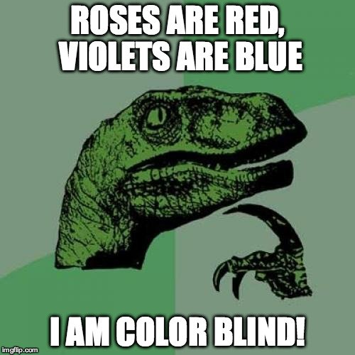 Color Blind Meme