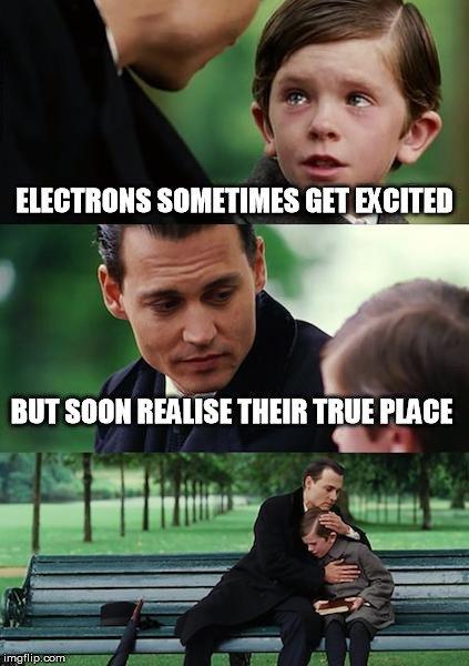 electrons meme