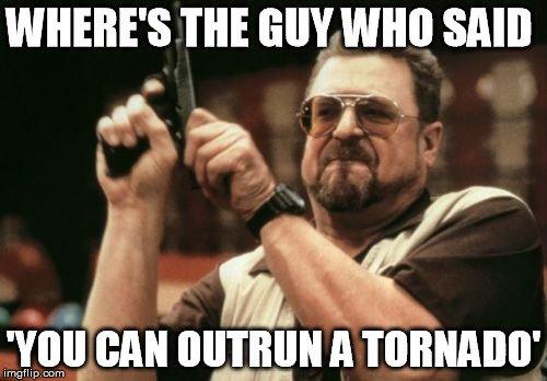 tornado outrun meme