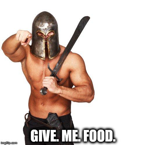 angry food meme