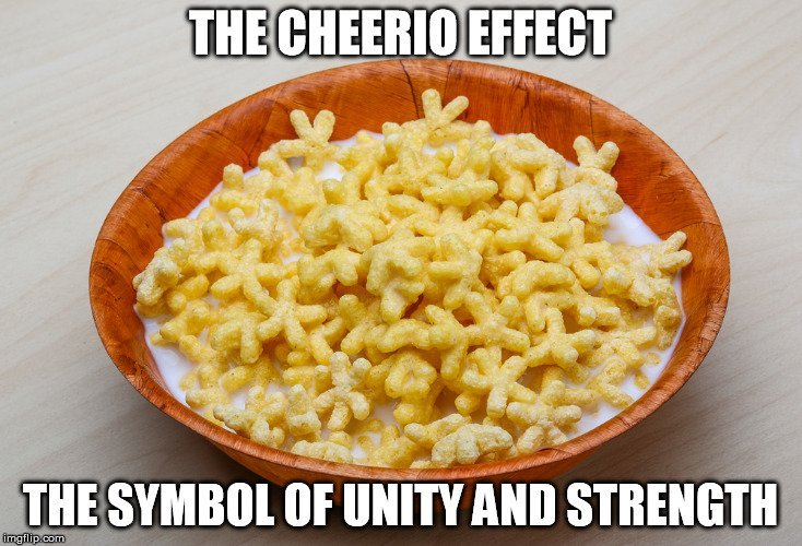 cheerio effect meme