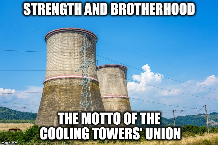 cooling tower meme