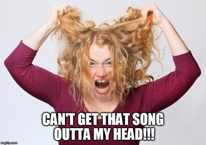 pulling hair meme