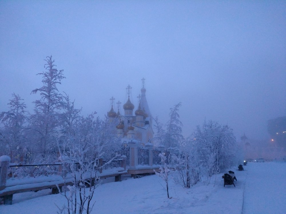 January in Yakutsk(Katia Petrova)s