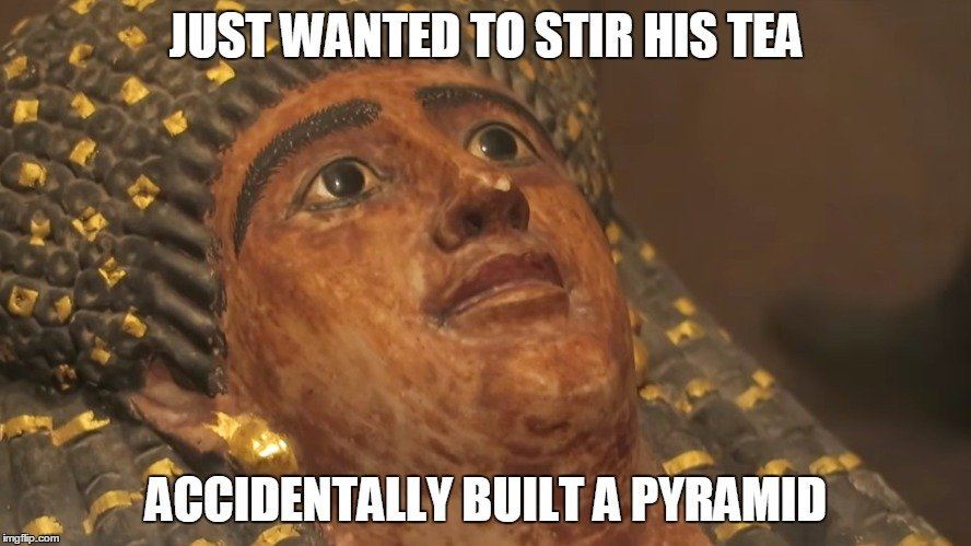 Bad Luck Pharaoh