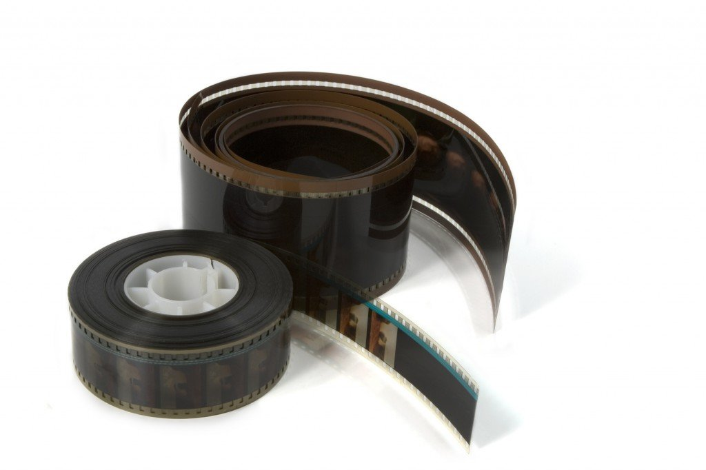 70mm and 35mm film reels (Photo Credit: Michelle Robek / Fotolia)