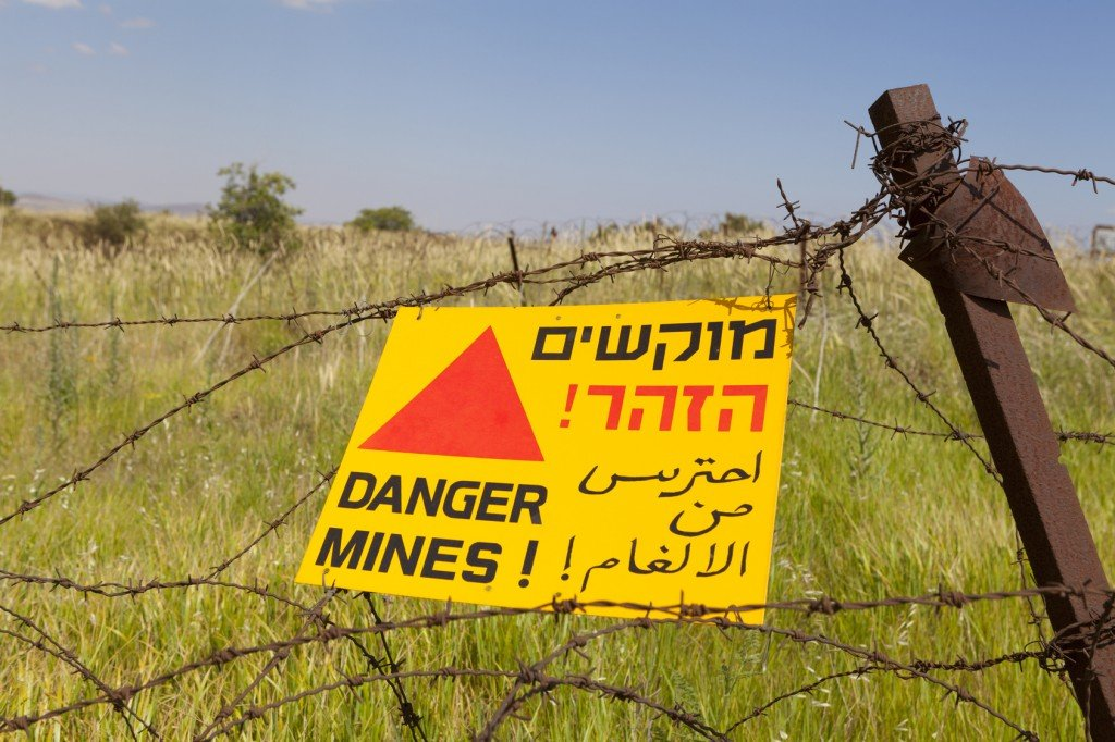 Minefield Warning (Photo Credit: orcea david / Fotolia)