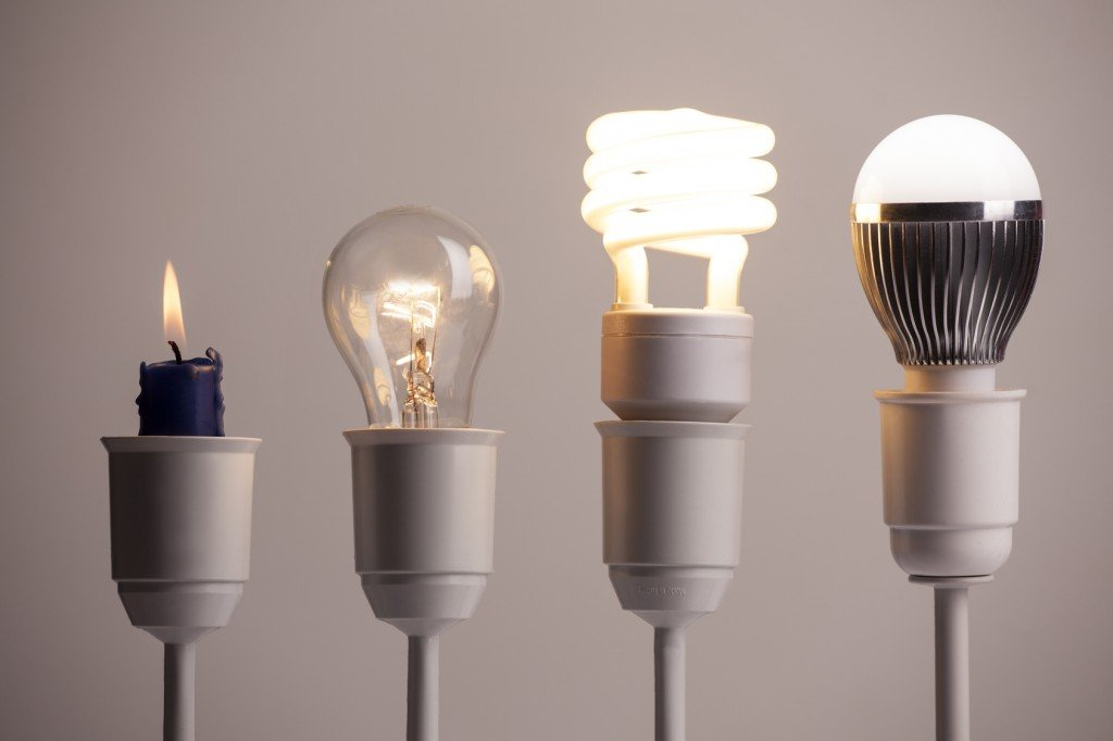 History of Lighting (Photo Credit: vladimirfloyd / Fotolia)