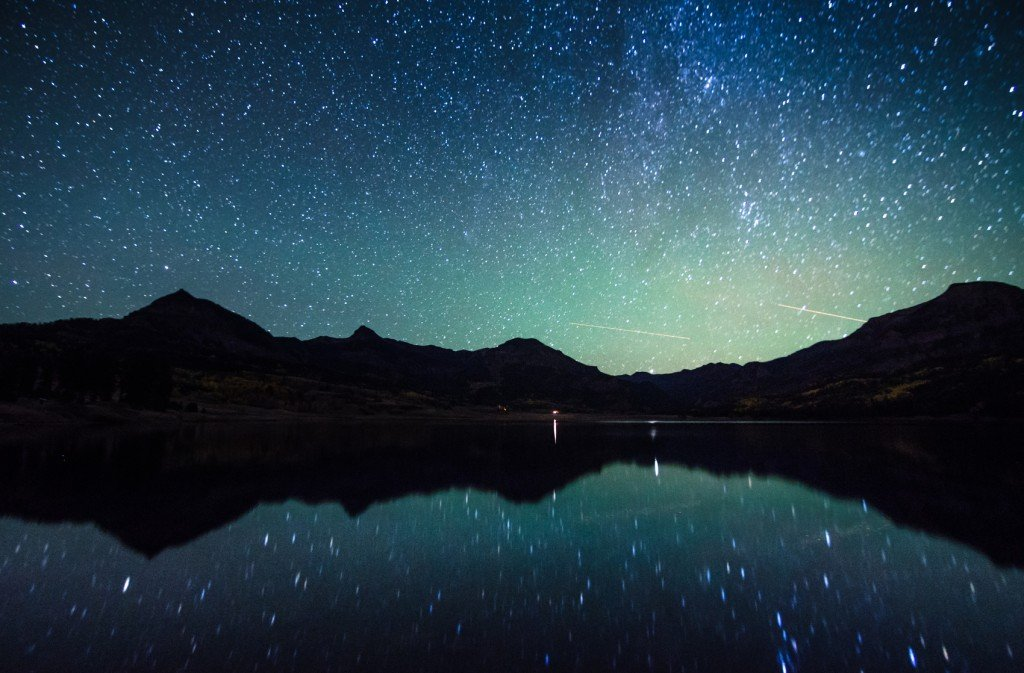 Starry Night (Photo Credit: tharathepptl / Fotolia)