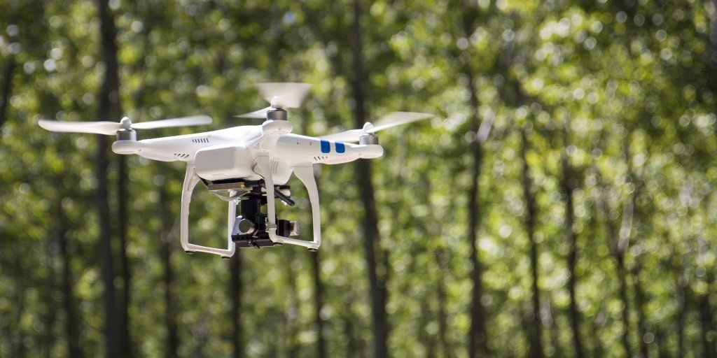 Small compact drone (Photo Credit: tostphoto / Fotolia)