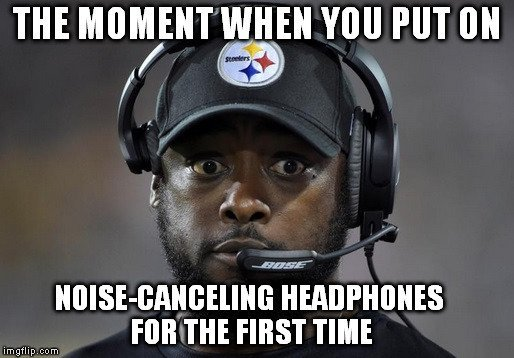 headphones meme