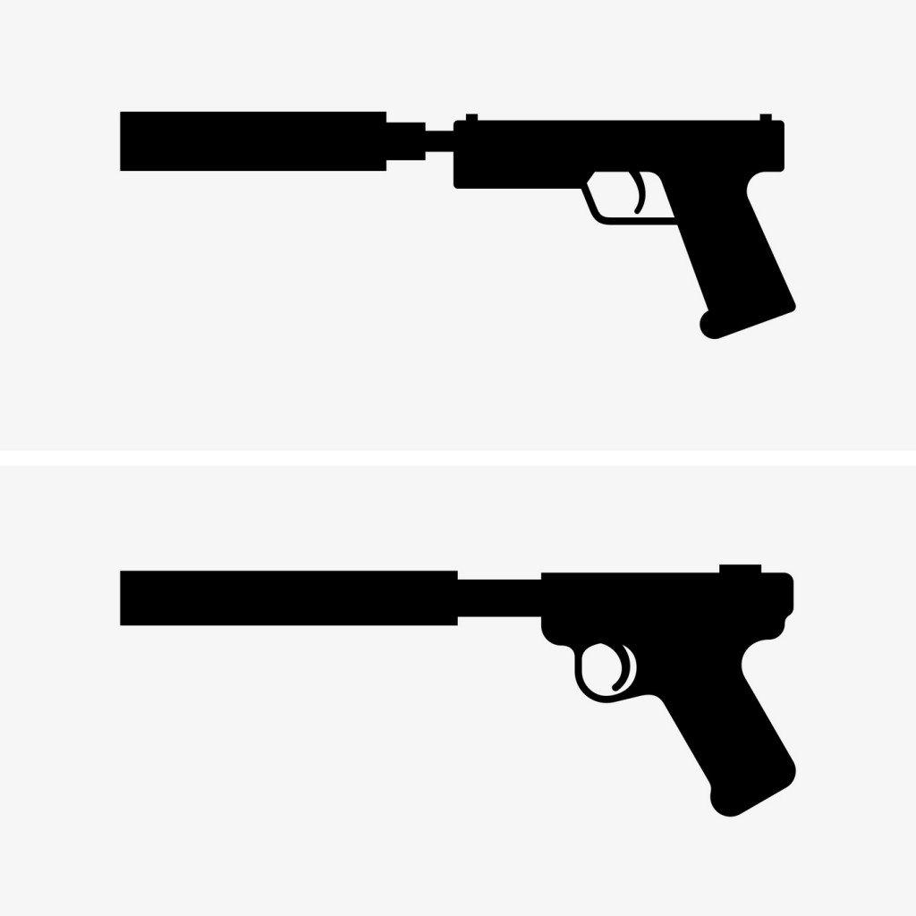 pistol silencer