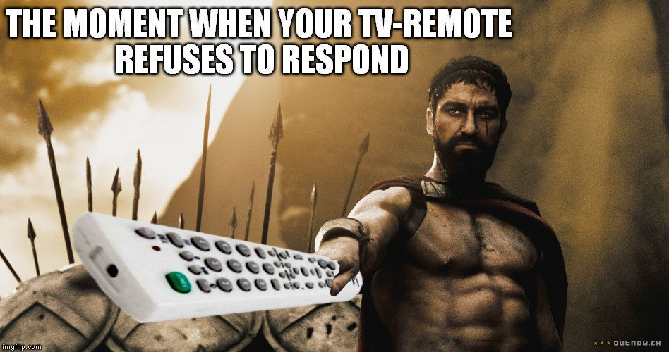 Tv remote meme