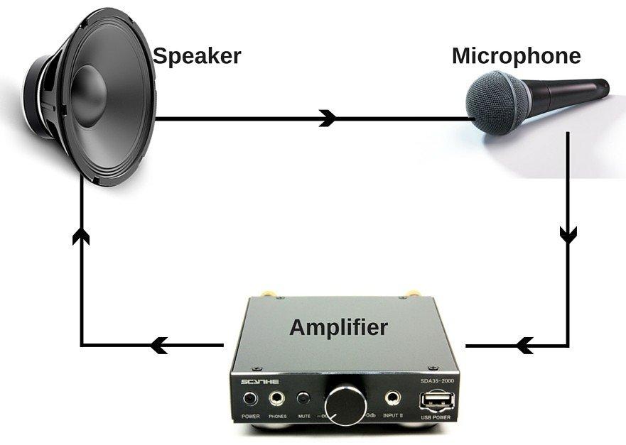 Speaker mic & amplifier