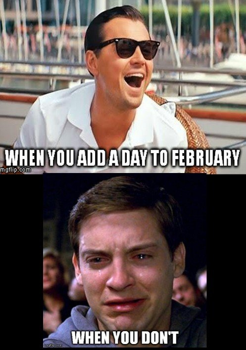 February meme