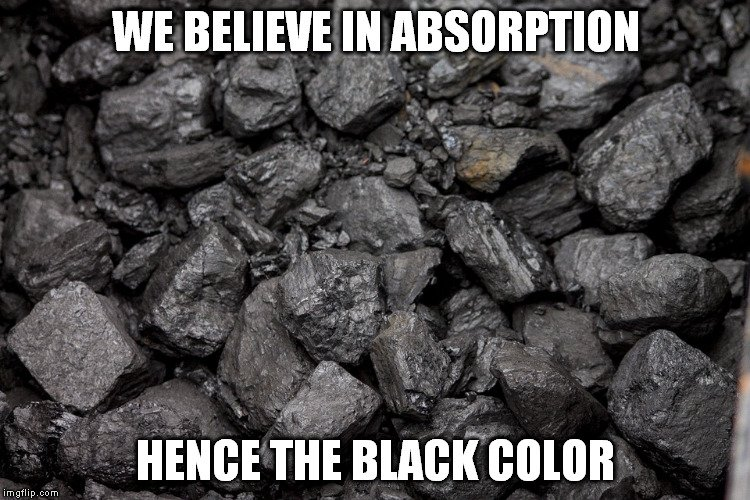 coal black meme