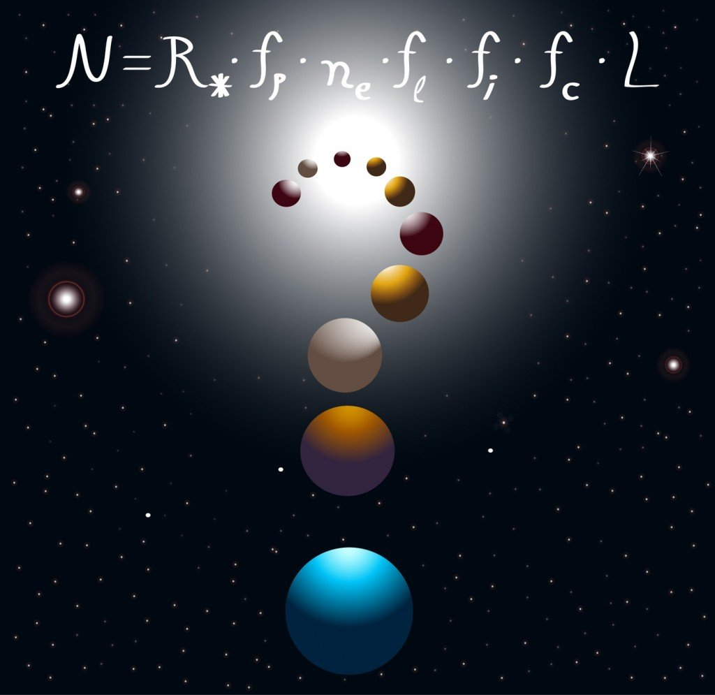 The Drake Equation (Photo Credit: meletver / Fotolia)