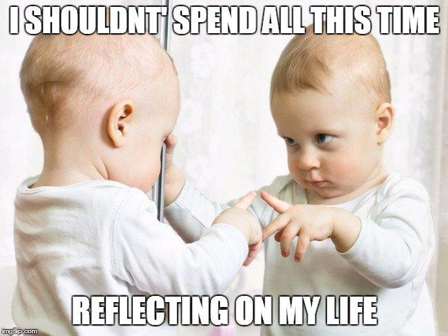 mirror baby meme mirrors