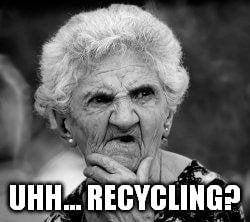 recycling meme