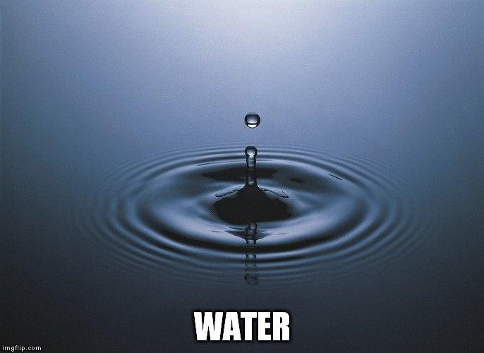 water meme