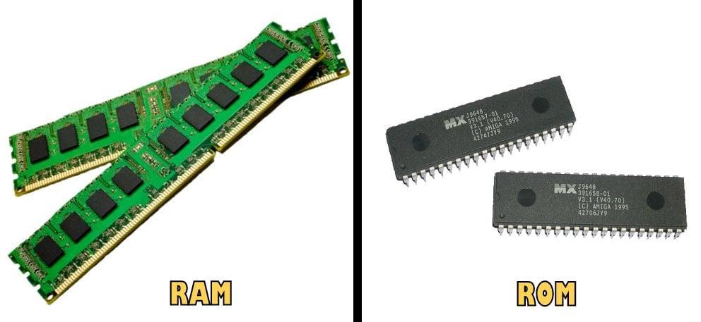 ram versus rom