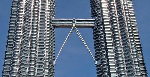 Skybridge of The Petronas Towers