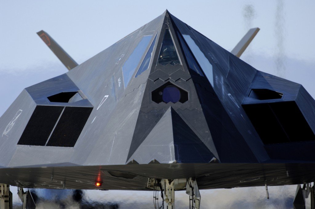 F-117_Front_View