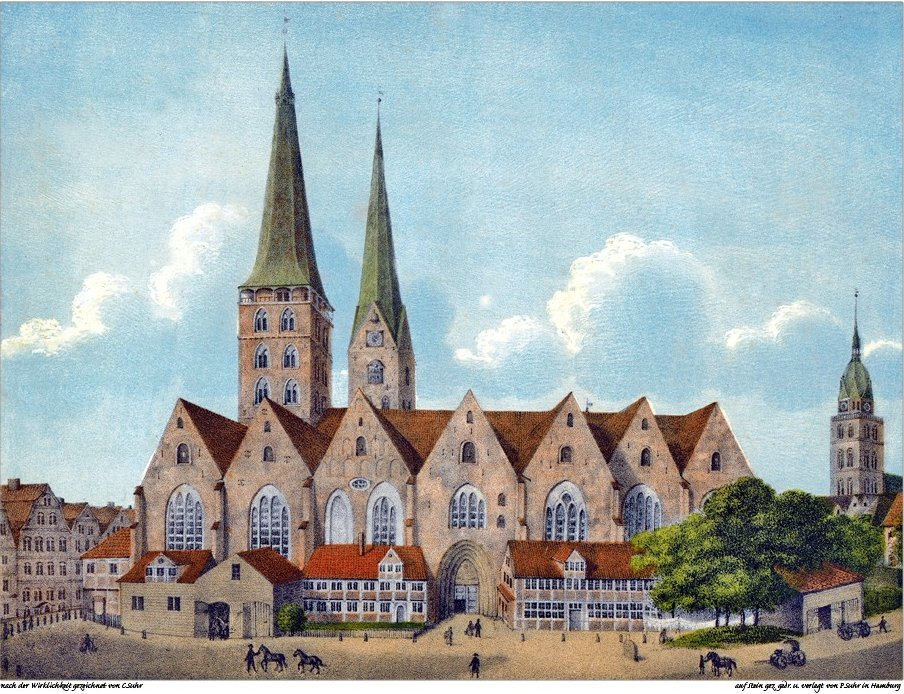 St. Mary's Church in Hamburg
