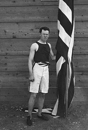 James Connolly at the 1896 Olympic Games in Athens