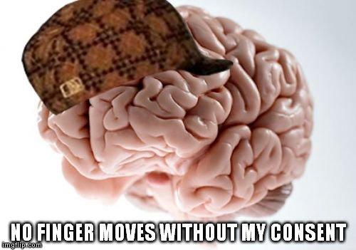 No finger moves without my consent meme